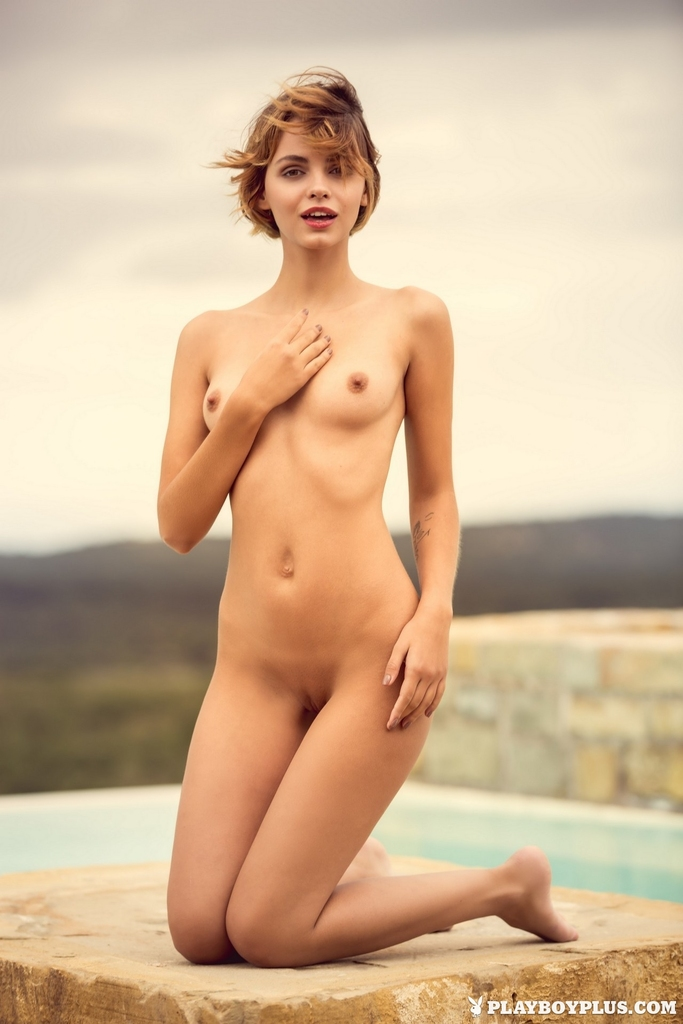 B cup naked tits