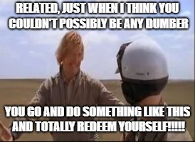 Totally redeem yourself gif