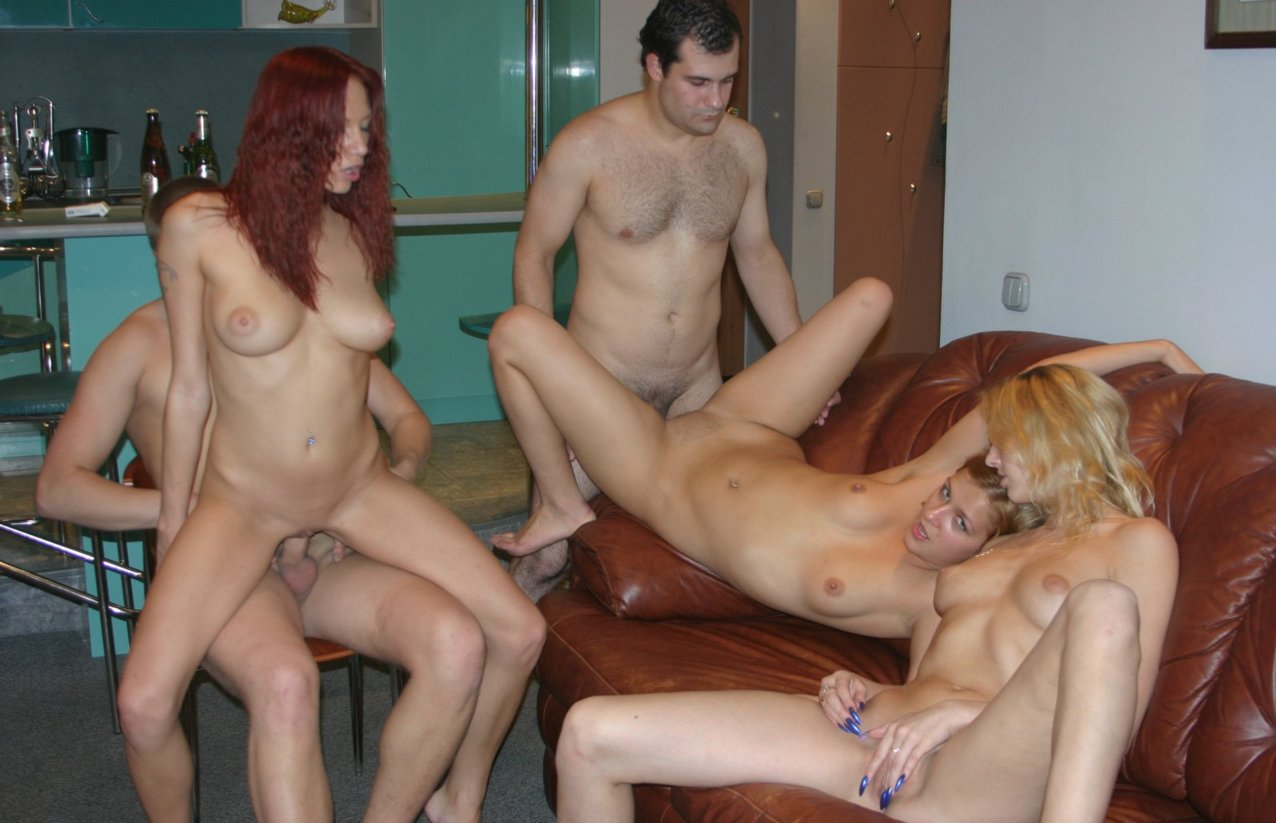 Family orgy party