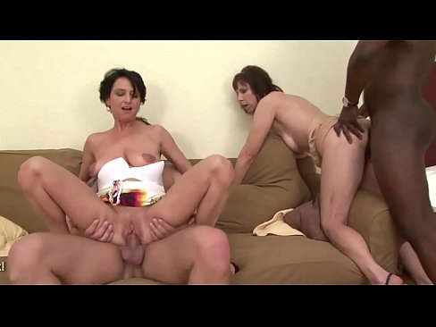 Mature moms anal sex party